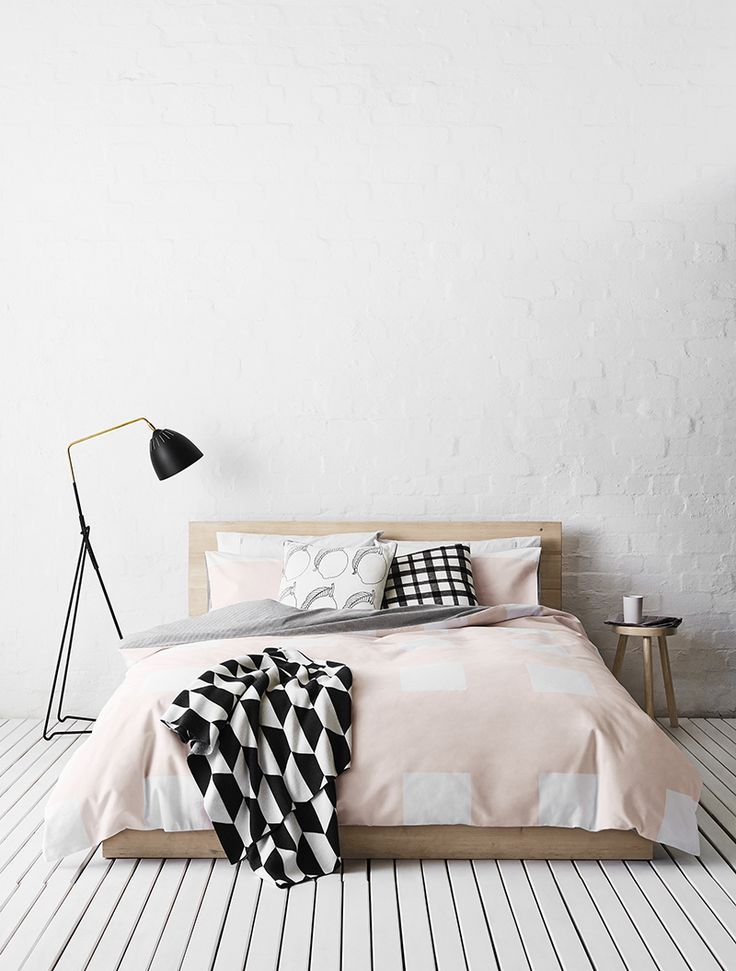 Scandinavisch in de slaapkamer. Bron: The Stylebox